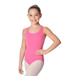 Child Racerback Tank Dance Leotard Ember