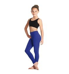 Child  Ankle Length Dance Leggings Layla