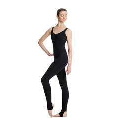 Pinch Front Full Body Dance Unitard Zoe