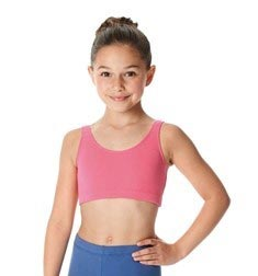 Girls Tank Crop Dance Top Beatrice