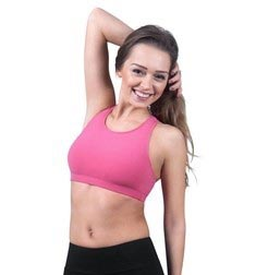 Womens Racerback Dance Bra Top Ella