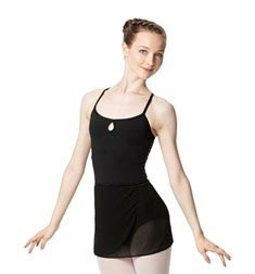 Adult Short Wrap Ballet Skirt Hailey