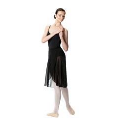 Midi Length Wrap Dance Skirt Addison