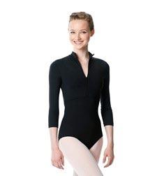 Long Sleeve Zipper Dance Leotard Eliana