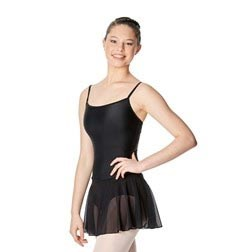 Womens Camisole Mesh Ballet Skirted Leotard Lillian