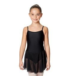 Girls Camisole Ballet Mesh Skirted Leotard Lillian