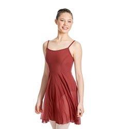 Womens Camisole Mesh Ballet Dress Leotard Natalie