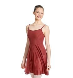 Womens Camisole Mesh Ballet Dress Leotard Natalie