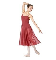 Camisole Long Ballet Dress Leotard Claire