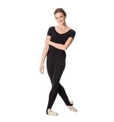 Short Sleeve Ankle Length Dance Unitard Sophie