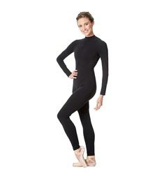 Adult Long Sleeve Mock Neck Dance Unitard Annabelle