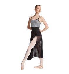 Adult Side Slit Dance Skirt Bella