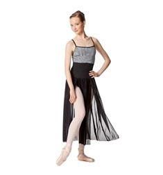 Adult 2 Sides Slit Dance Skirt Keira