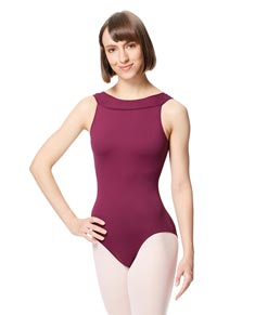 Adult Microfiber Cross Strap Tank Leotard Abel