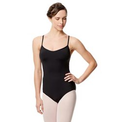 Adult Microfiber Extra Breast Support Camisole Leotard Addie