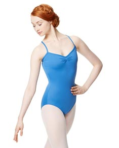 Adult Microfiber Pinched Front Camisole Leotard Alair