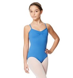 Child Microfiber Pinched Front Camisole Leotard Alair