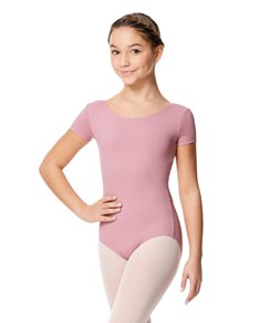 Child Short Sleeve Leotard for Girls Abigail