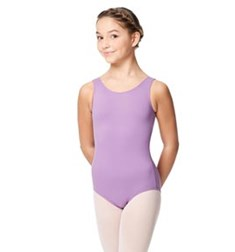 Child Microfiber  Scoop Neck Tank Leotard Yolanda