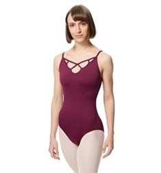 Adult Microfiber Straight Back Camisole Leotard Eleanora