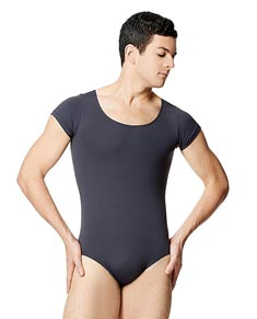 Mens Microfiber Short Sleeve Leotard Terryl