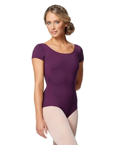 Scoop Front Cap Sleeve Dance Leotard Alyona