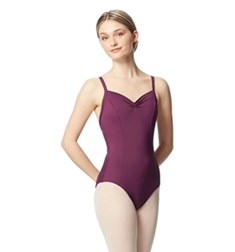 Adult Open Back Pinch Front Camisole Ballet Leotard Darya