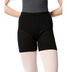 Knit Warm Up Dance Shorts