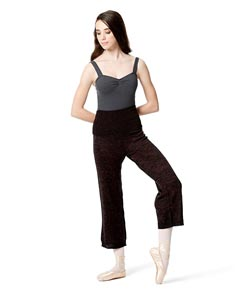 Knitted Warm Up Dance Boot Pants