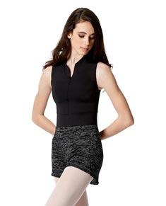 Warm Up High Elastic Waist Dance Shorts