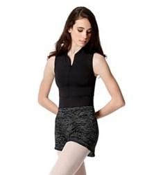 Warm Up High Elastic Waist Dance Shorts