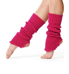 Adult Stirrup Leg Warmers 40 cm