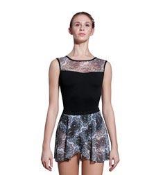Adult Floral Printed Mesh Skirt Jordan