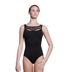 Women High Neck Mesh Back Leotard Gabriel
