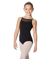Girls Mesh Back Camisole Leotard Kate