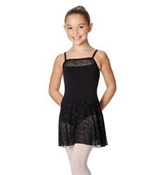 Girls Camisole Skirted Mesh Leotard Erin