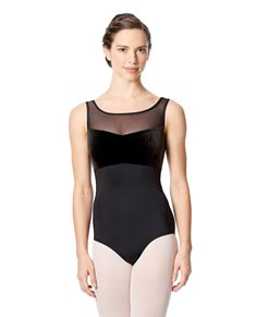 Girls Microfiber Dance Leotard Oxana