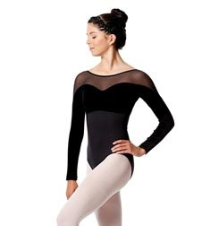Womens Long Sleeve Dance Leotard Romina