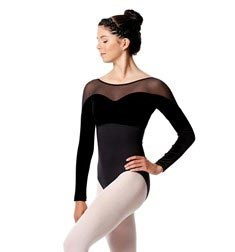 Womens Long Sleeve Dance Leotard Romina
