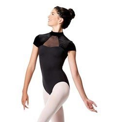 Womens Turtleneck Performance Dance Leotard Valery