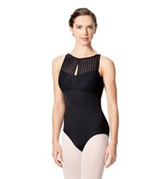High Neck Tank Dance Leotard Elvira