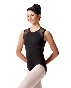 Girls Mesh Tank Dance Leotard Caterina