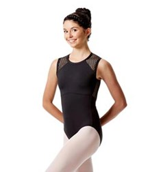 Womens Mesh Tank Dance Leotard Caterina
