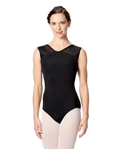 Womens Tank Mesh Dance Leotard Cassandra