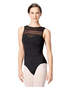 Women's Boat Neck Leotard Bogdana
