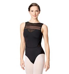 Womens Boat Neck Dance Leotard Bogdana