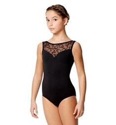 Child Microfiber Sleeveless Leotard Alegria