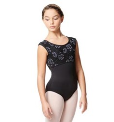Child Microfiber Cap Sleeve Leotard Felepita