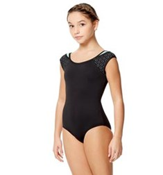 Child Microfiber Two Color Tank  Leotard Lalia