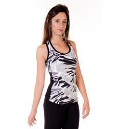 Storm Print Racer Back Supplex Top for Women